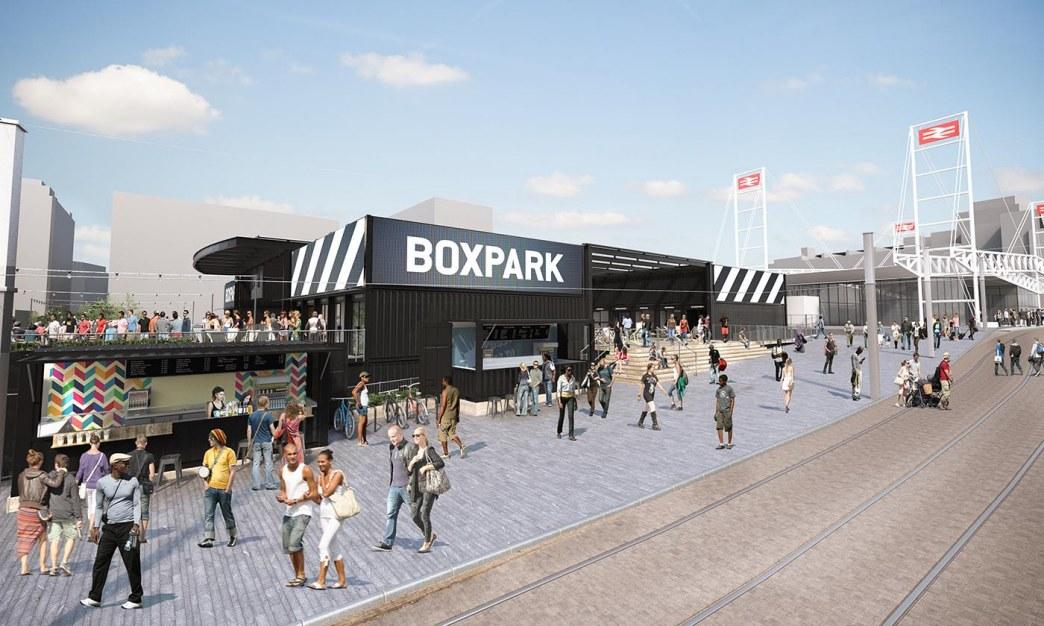 Boxpark, Croydon | Virtual Planit