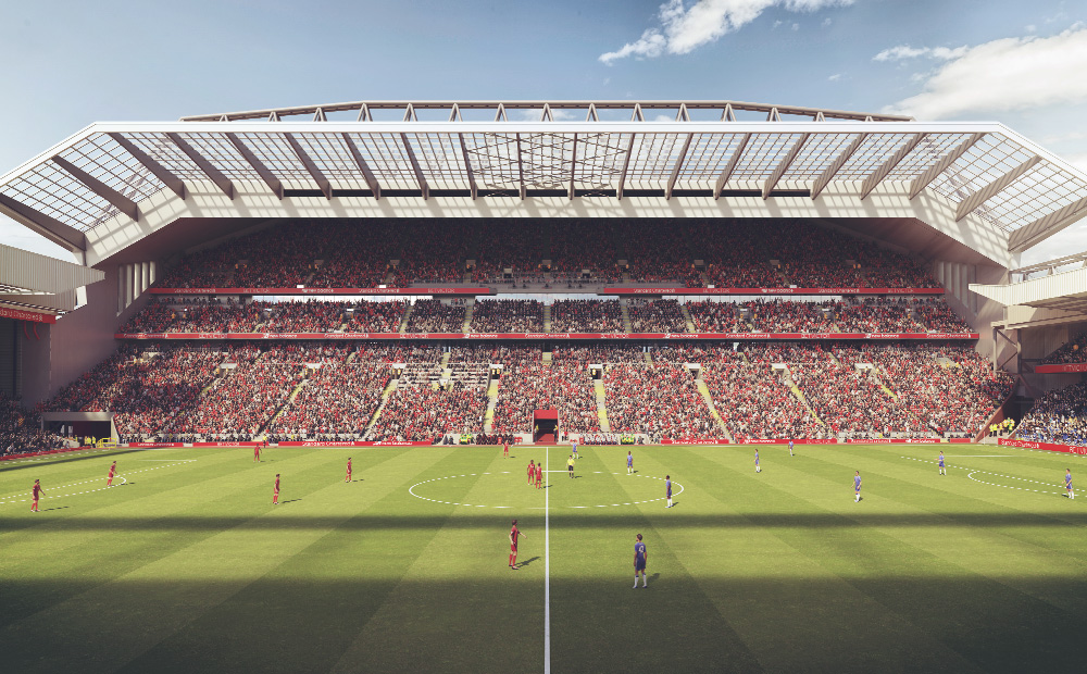 Before-Anfield Main Stand